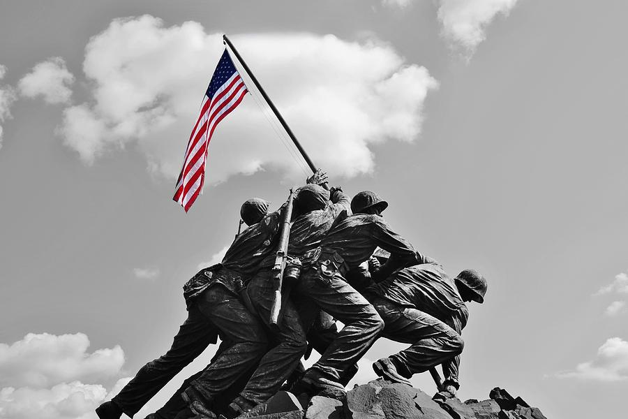 US Flag Iwo Jima
